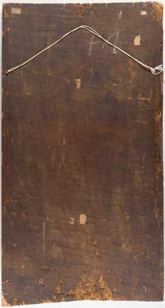 Lot 3 - Bernardo Zenale (Werkstatt/Umkreis)um 1460 Treviglio - Mailand 1526Thronende Madonna mit KindÖl