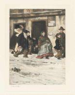 Lot 499 - Heinrich Zille1858 Radeburg - Berlin 1929Im ArbeiterviertelHeliogravüre auf festem Velin. (1902). 31