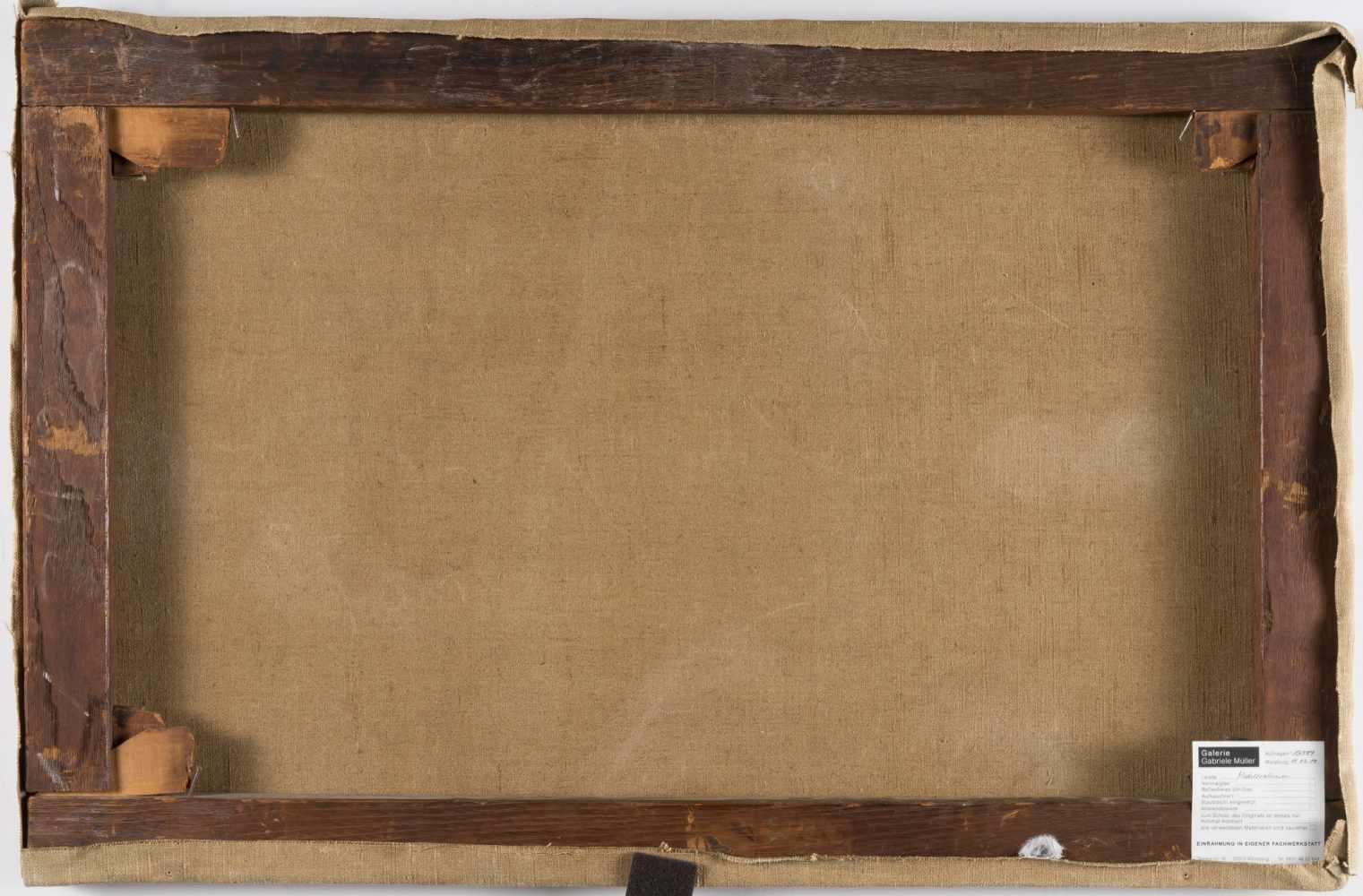 Lot 32 - Julius Schlegel1825 Potsdam – Berlin 1884Blick auf SorrentÖl auf Leinwand, doubliert. (1854). 42 x