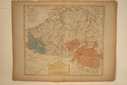 "Carte des Provinces-Unies ""Bowles's New Pocket map of The Catholick Provinces of the [...]"