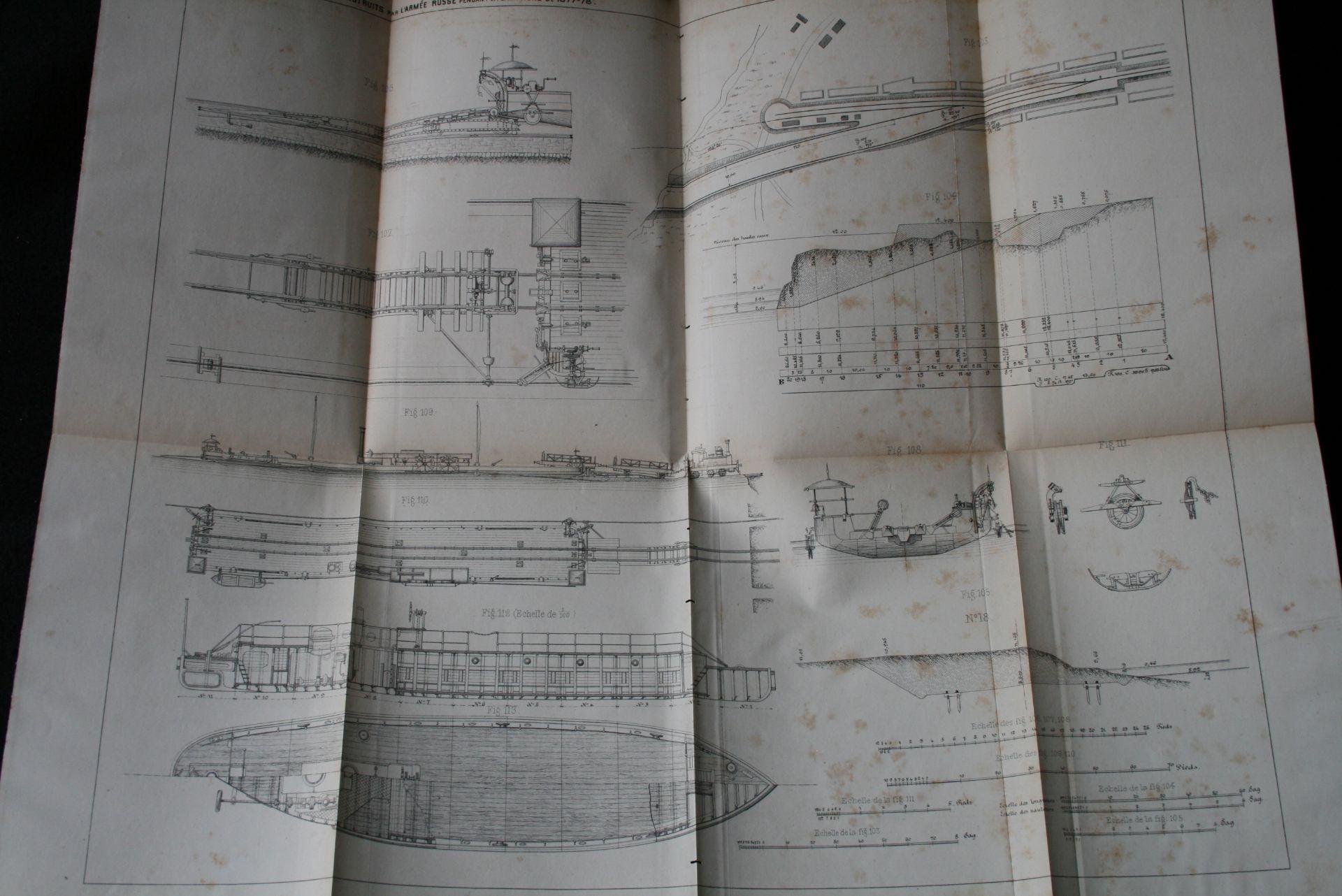 P. LESSAR : De la construction des chemins de fer en temps de guerre. Lignes [...] - Bild 4 aus 4