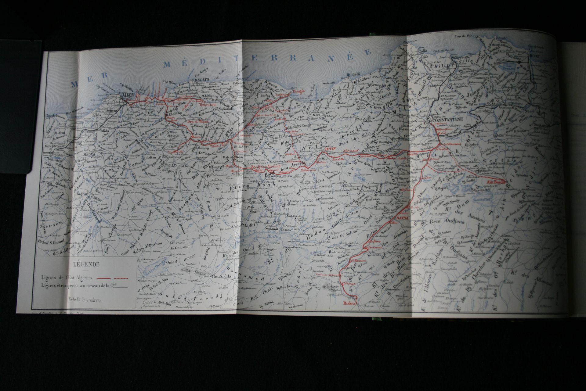 Compagnie des Chemins de fer de l'Est Algérien, Recueil de documents : 1875-1884 [...] - Bild 2 aus 3