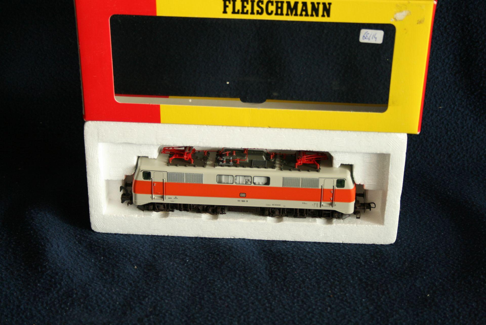 Los 41 - FLEISCHMANN HO - 4349 - 111 188-9, boîte d'origine - - FLEISCHMANN HO - 4349 - [...]