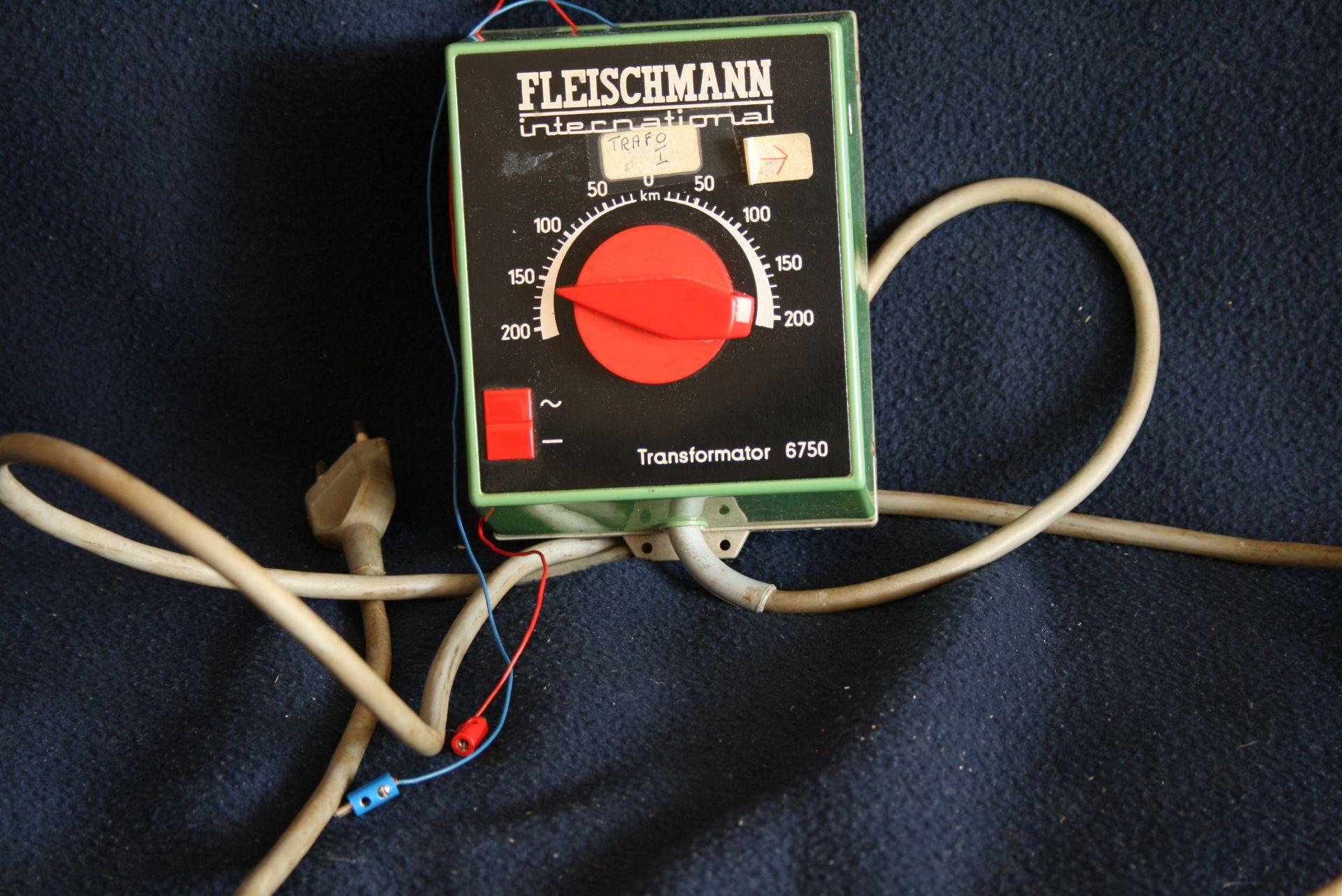 Los 25 - Fleischmann 6750, transformateur électrique - - Fleischmann 6750 - Power [...]