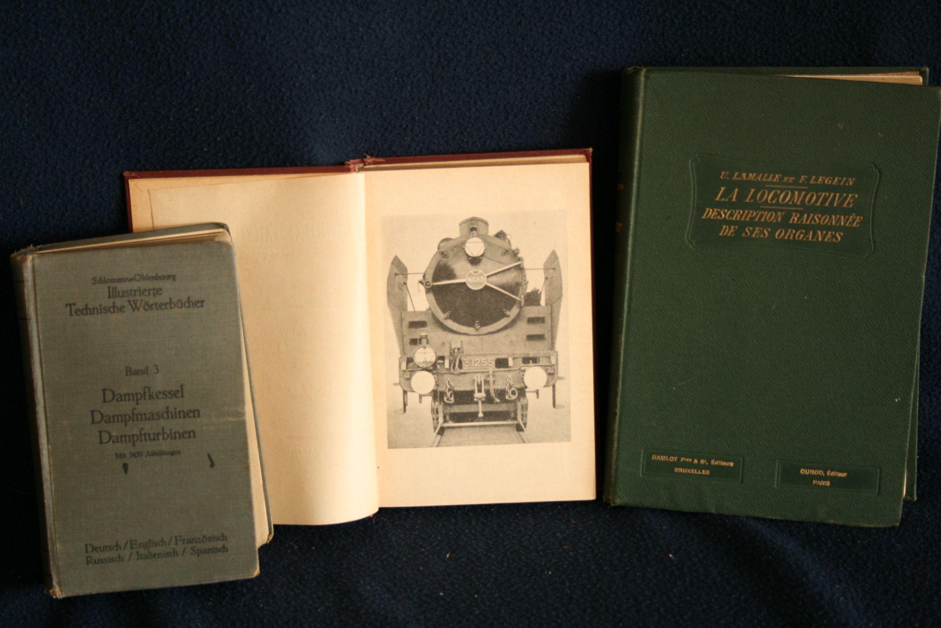 Los 14 - U. LAMALLE & F. LEGEIN : La locomotive, description raisonnée de ses organes, Dunod [...]