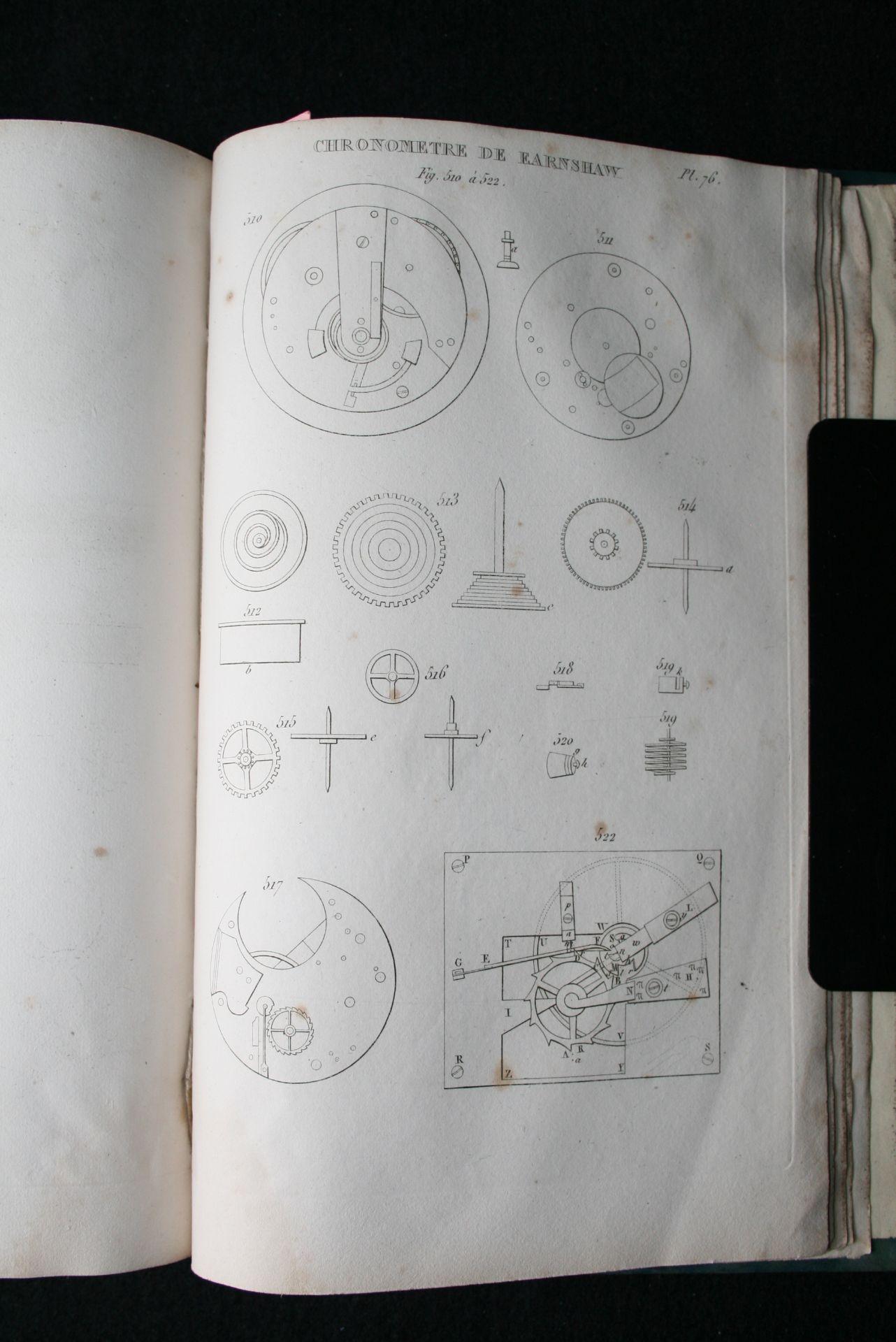 NICHOLSON J. - Le mécanicien anglais ou description pratique des arts mécaniques de [...] - Bild 2 aus 3