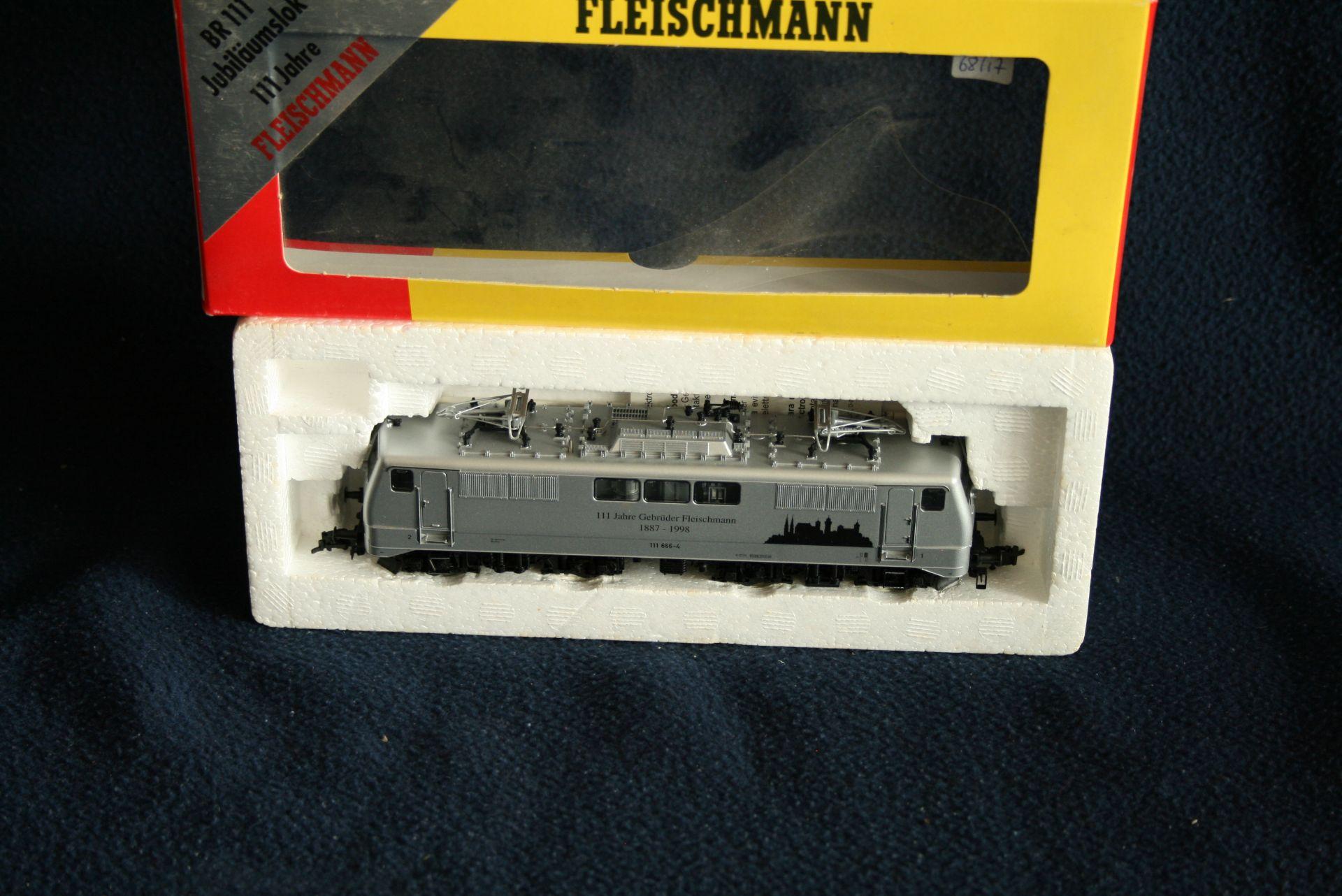 Los 44 - FLEISCHMANN HO - 98 4347 - 111 Jahre Gebrüder Fleischmann 1887-1998, 111 666-4 , [...]