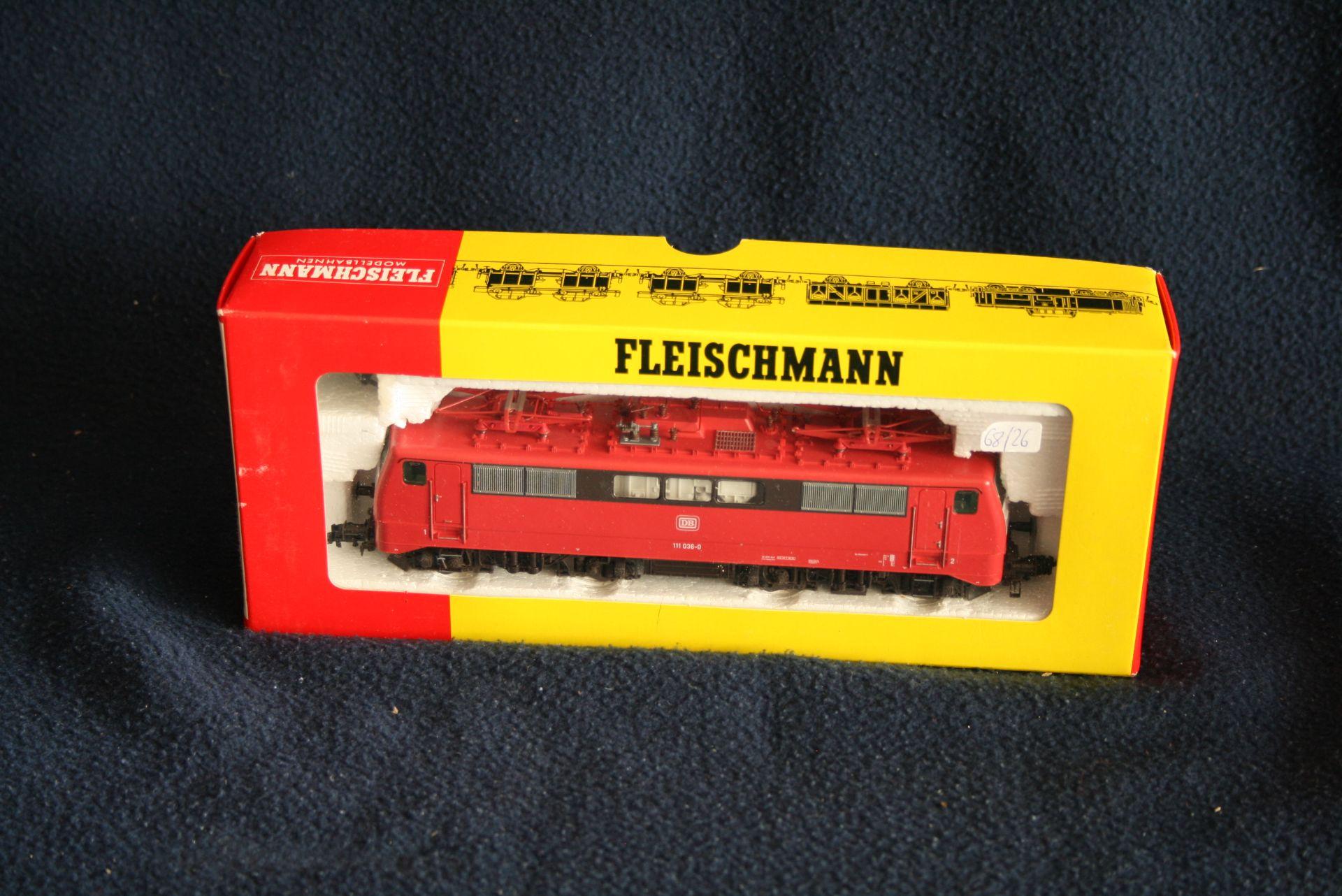 Los 48 - FLEISCHMANN HO - 4347 - 111 036-0, boîte d'origine - - FLEISCHMANN HO - 4347 - [...]
