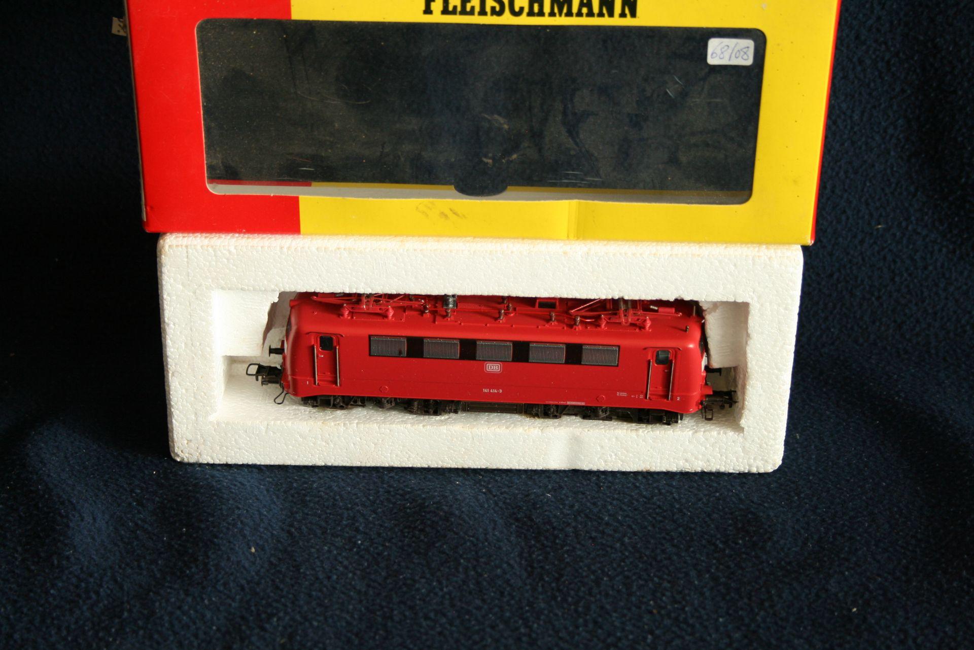 Los 35 - FLEISCHMANN HO - 4327 - 141 414-3, boîte d'origine - - FLEISCHMANN HO - 4327 - 141 [...]