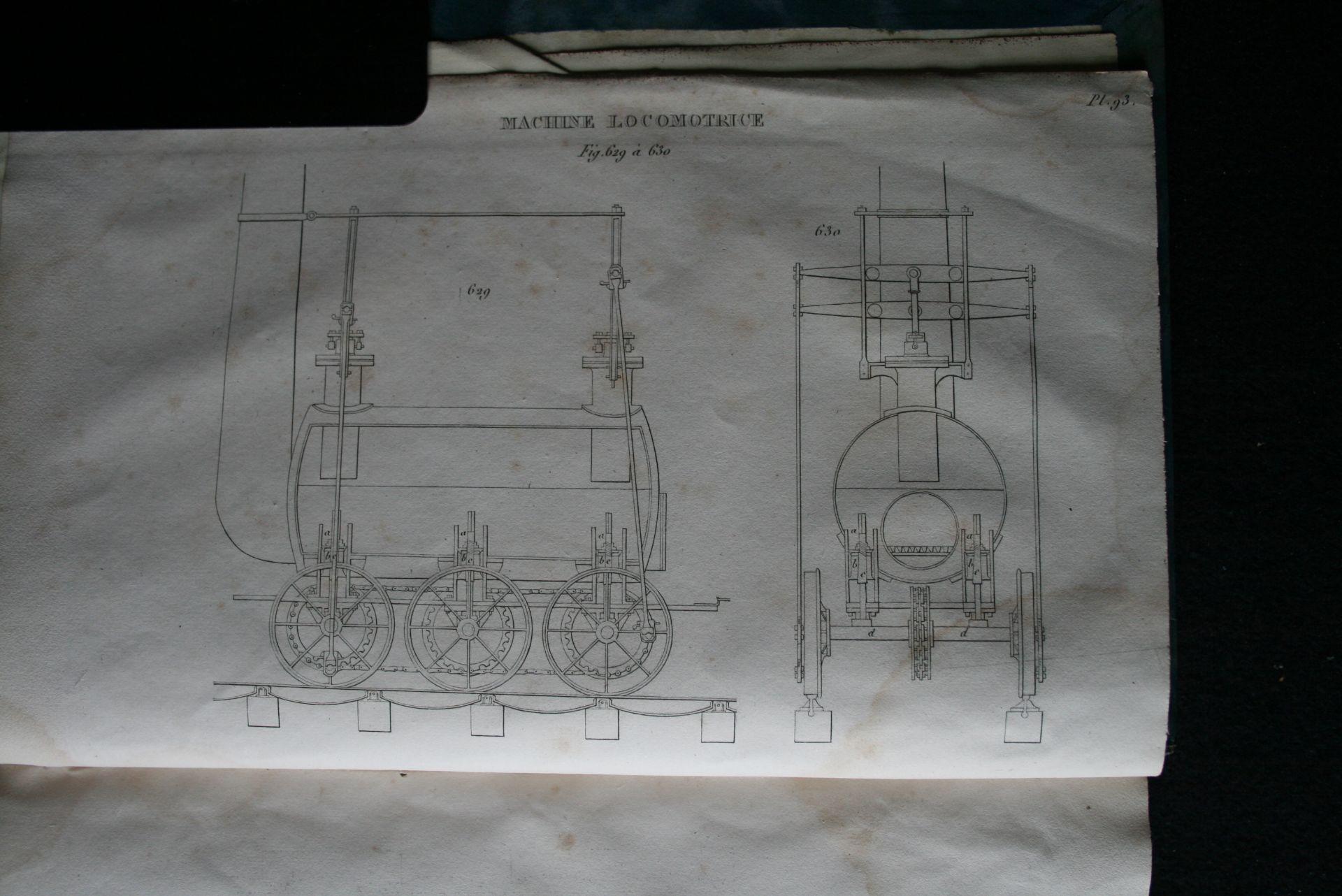 NICHOLSON J. - Le mécanicien anglais ou description pratique des arts mécaniques de [...] - Bild 3 aus 3