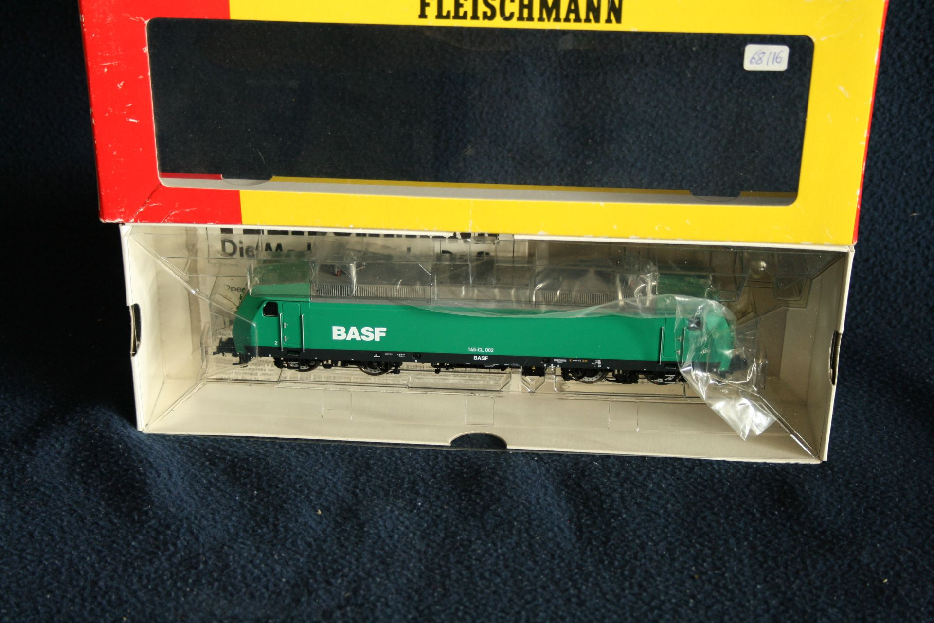 FLEISCHMANN H0 - 80 4320 - BASF type 145-CL 002, avec boîte d'origine - - [...]