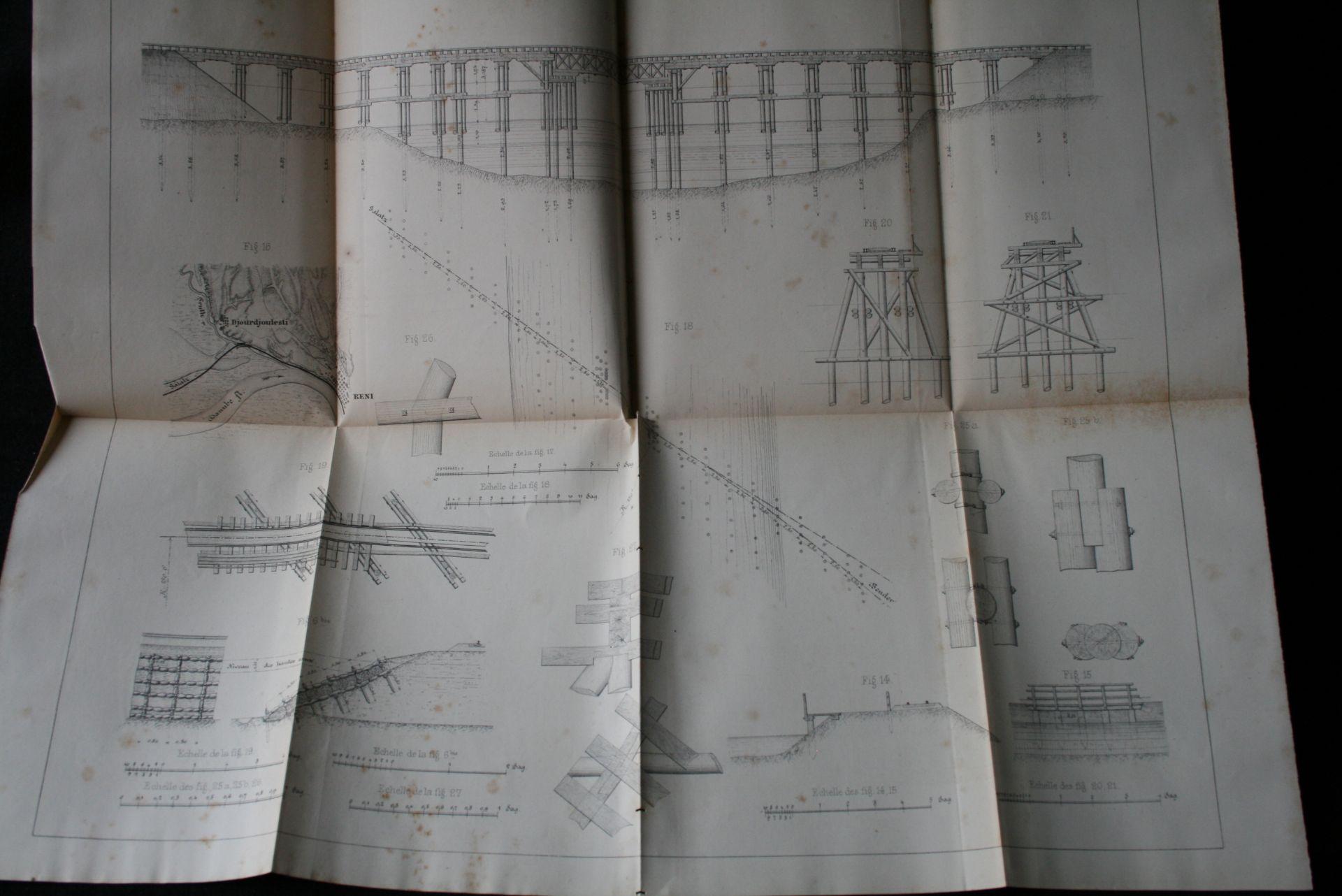 P. LESSAR : De la construction des chemins de fer en temps de guerre. Lignes [...] - Bild 3 aus 4
