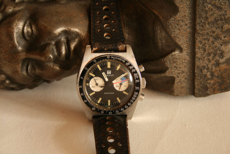 Lot 21 - Montre TISSOT modèle Seastar des années 60/70 - TISSOT model Seastar watch from the [...]