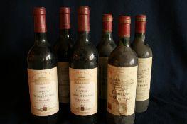 3 bouteilles de BORDEAUX, FRONSAC, Château du TERTRE DE FRONSAC, rouge, 1997 + 3 [...]