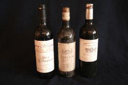 1 bouteille de Bordeaux GRAVES, Mise de la Baronnie (Philippe de Rothschild), rouge, [...]