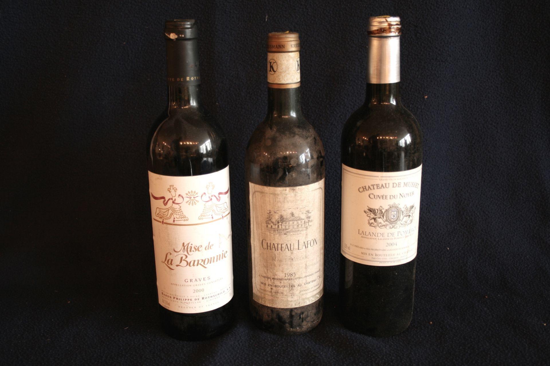 Los 47 - 1 bouteille de Bordeaux GRAVES, Mise de la Baronnie (Philippe de Rothschild), rouge, [...]