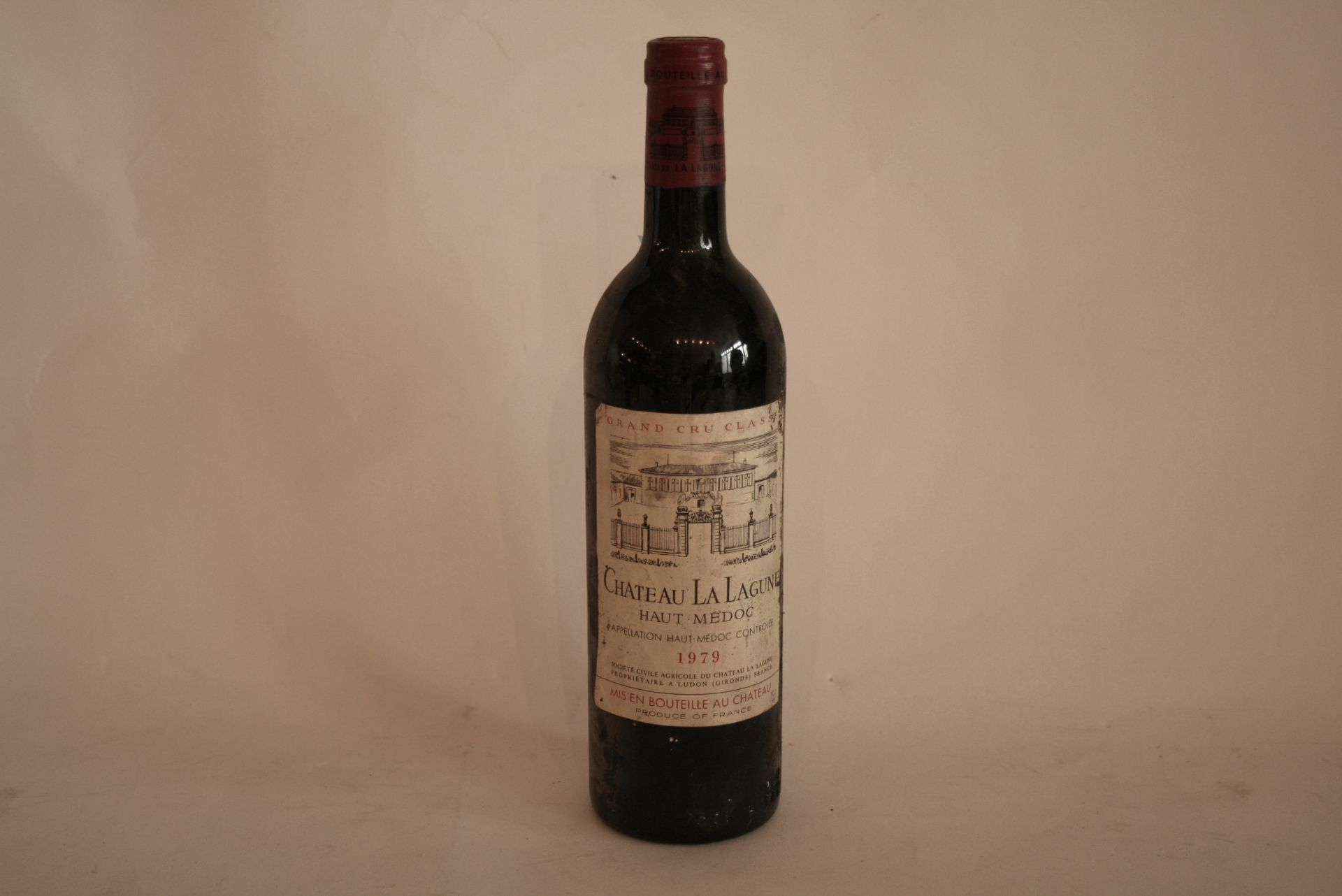 Los 50 - 1 Bouteille de HAUT-MEDOC, Château La LAGUNE, rouge, 1979 - 1 Bottle of HAUT-MEDOC, [...]