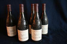6 Bouteilles de Châteauneuf-Du-Pape, Cuvée de l'Hospice, rouge, 1999 - 6 Bottles of [...]