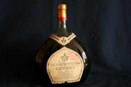 """1 bouteille JEROBOAM (3 litres) d'ARMAGNAC """"Grand Armagnac BRUCHAUT"""", Réserve 1893, [...]"""