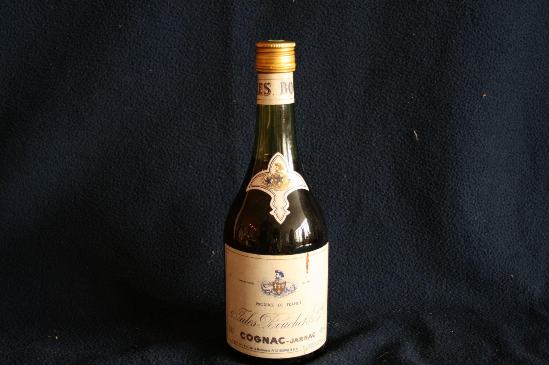 Los 14 - 1 bouteille de COGNAC, vieille année (années 70), Jules BOUCHET & Cie, Importé au [...]