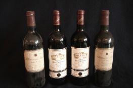 4 bouteilles de BORDEAUX GRAVES, rouge : 2 x château HAUT-GRAMONS, 2003 + 2 x [...]