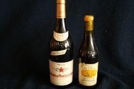 1 bouteille de Vin de paille, appellation L'ETOILE, Domaine de MONTBOURGEAU, 1996 + [...]