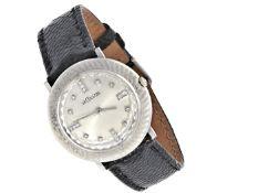 Armbanduhr: elegante, sehr seltene weißgoldene Le Coultre Herrenuhr mit Diamanten, ca. 1950 Ca.