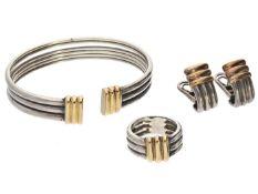 Armreif/Armspange/Ring/Ohrclips: hochwertiger Markenschmuck von Perrin 1. Armreif/Armspange ca.