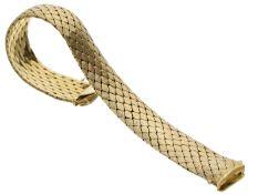 Armband: breites, schweres vintage Goldschmiedearmband Ca. 19,5cm lang, ca. 15mm breit, ca. 50,9g,