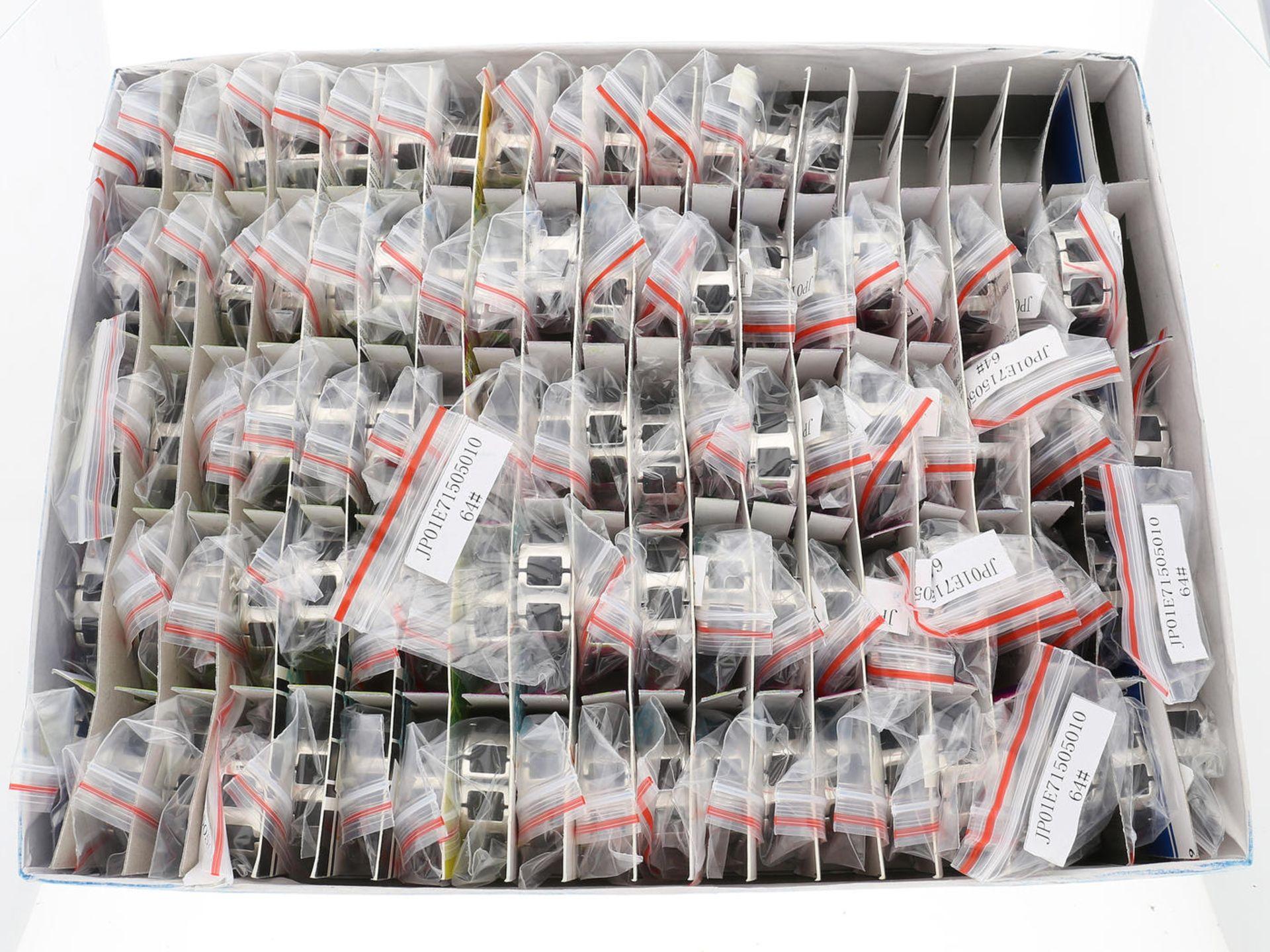 Los 6035 - Ring: neuwertige, ungetragene, originalverpackte Partie Designerringe, s.Oliver Herren-Edelstahl-