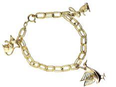 Armband: sehr schönes vintage Bettlerarmband Ca. 20cm lang, ca. 23g, 14K/8K Gold, 3 sehr schöne