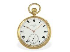 Taschenuhr: schwere englische Beobachtungsuhr mit Karussell, königlicher Uhrmacher Birch & Gaydon