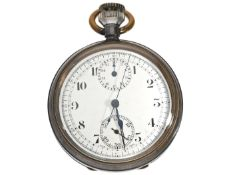 Taschenuhr: seltener und ungewöhnlicher Minerva-Chronograph für die britische G.P.O (The British