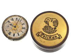Taschenuhr: hochwertiges Taschenuhrwerk, Ankerchronometer, Charles Henri Grosclaude & Fils, Fleurier