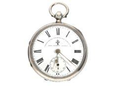 Taschenuhr: feine englische Taschenuhr, königlicher Chronometermacher John Forrest London, Hallmarks
