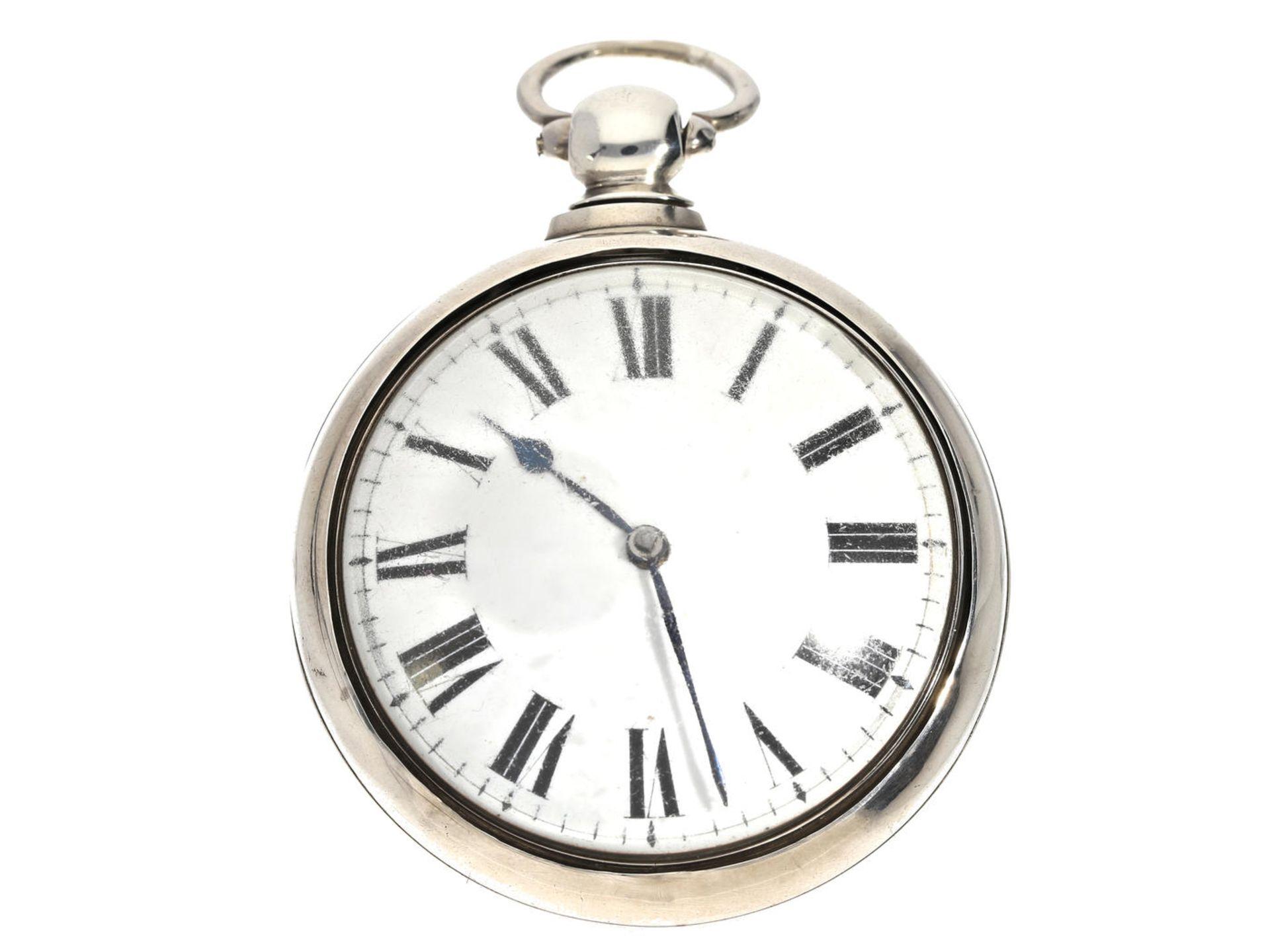 Los 6059 - Taschenuhr: sehr schöne und technisch interessante englische Doppelgehäuse-Taschenuhr mit