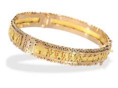 Armreif: vintage Armreif in 18K Gold, verm. Mittelamerika Ca. Ø6cm, ca. 18,3g, 18K Gold, leicht