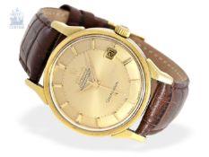 """Armbanduhr: seltenes Omega Constellation Automatikchronometer """"Pie-Pan"""" Ref.168.005 von 1966, sehr"""