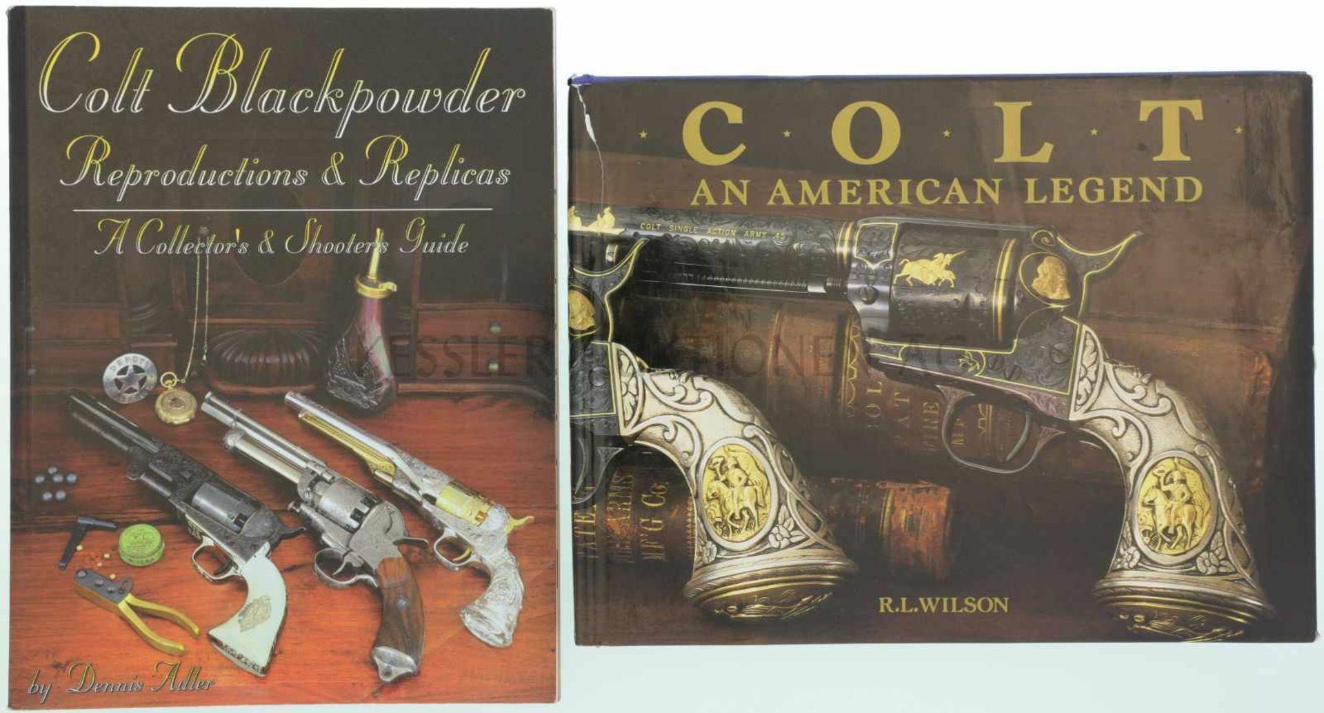 Konvolut von 2 Büchern 1. Colt Blackpowder, Reproductions & Replicas, a collector's & shooters