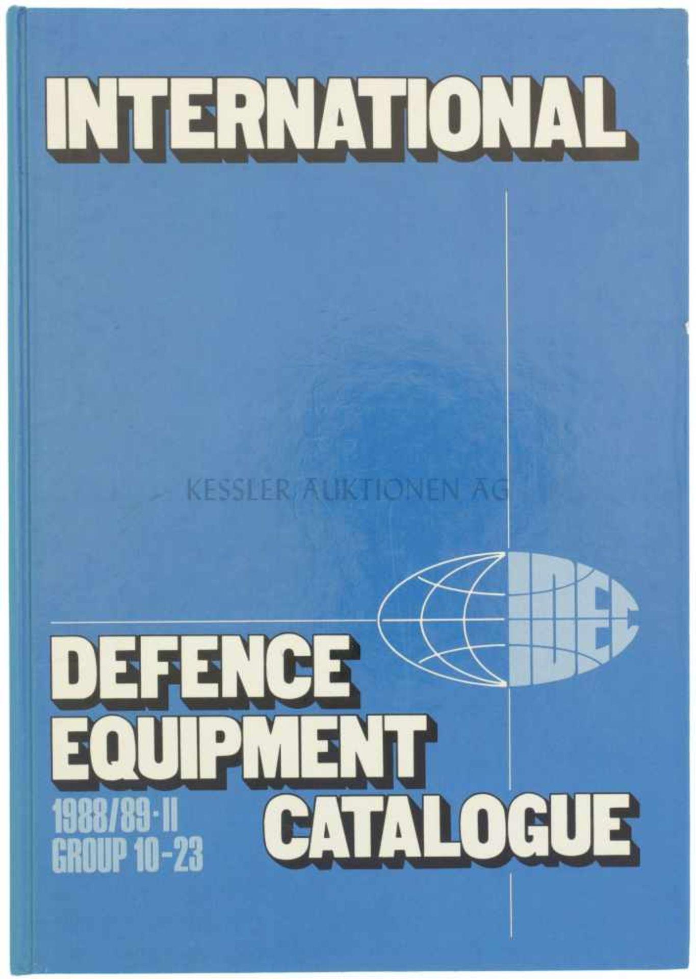 International Defence Equipment Catalogue, 1988/89-II, Group 10-23 Volume 2, 1988, 461 Seiten mit