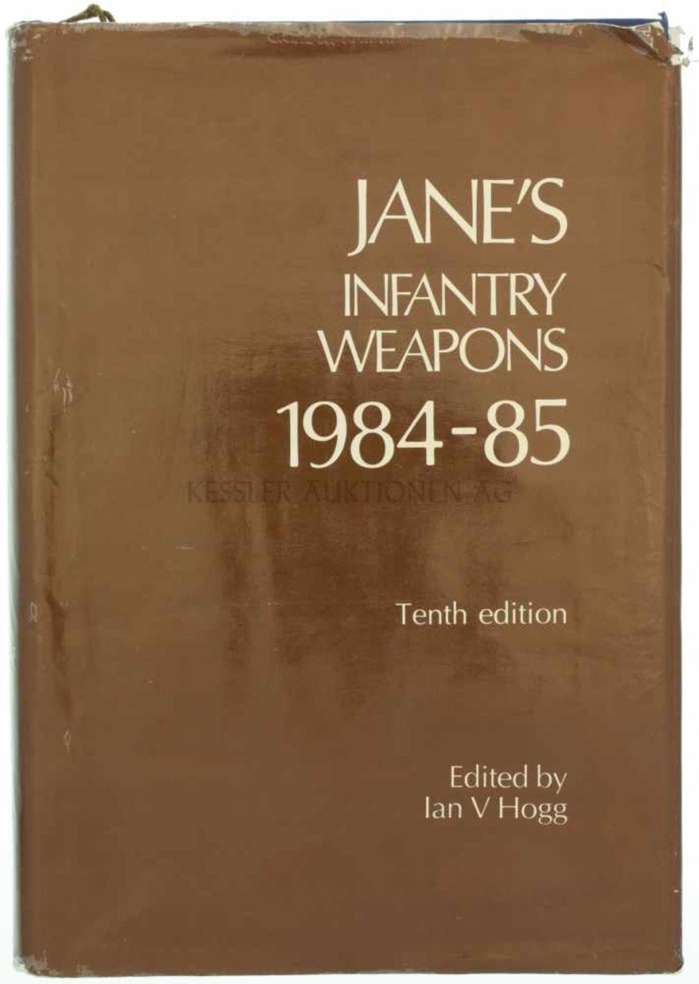 Jane's Infantry Weapons, 1984-85 10. Auflage, von Ian V. Hogg, 957 Seiten mit diversen