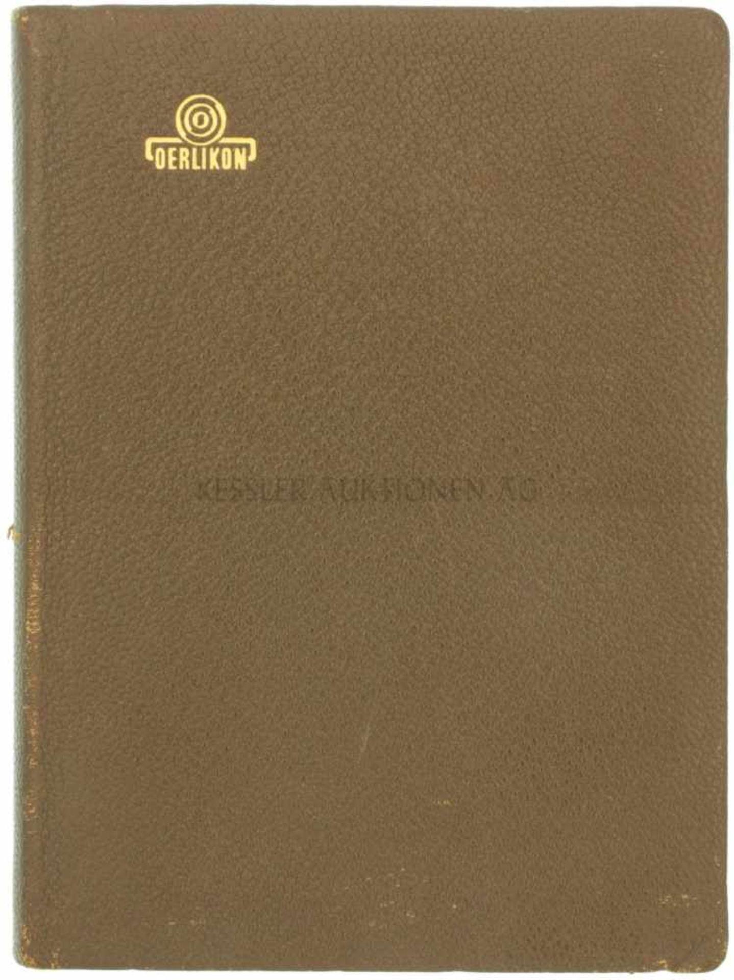 Oerlikon Taschenbuch 1962 In spanischer Sprache verfasstes Taschenbuch der Werkzeugmaschinenfabrik