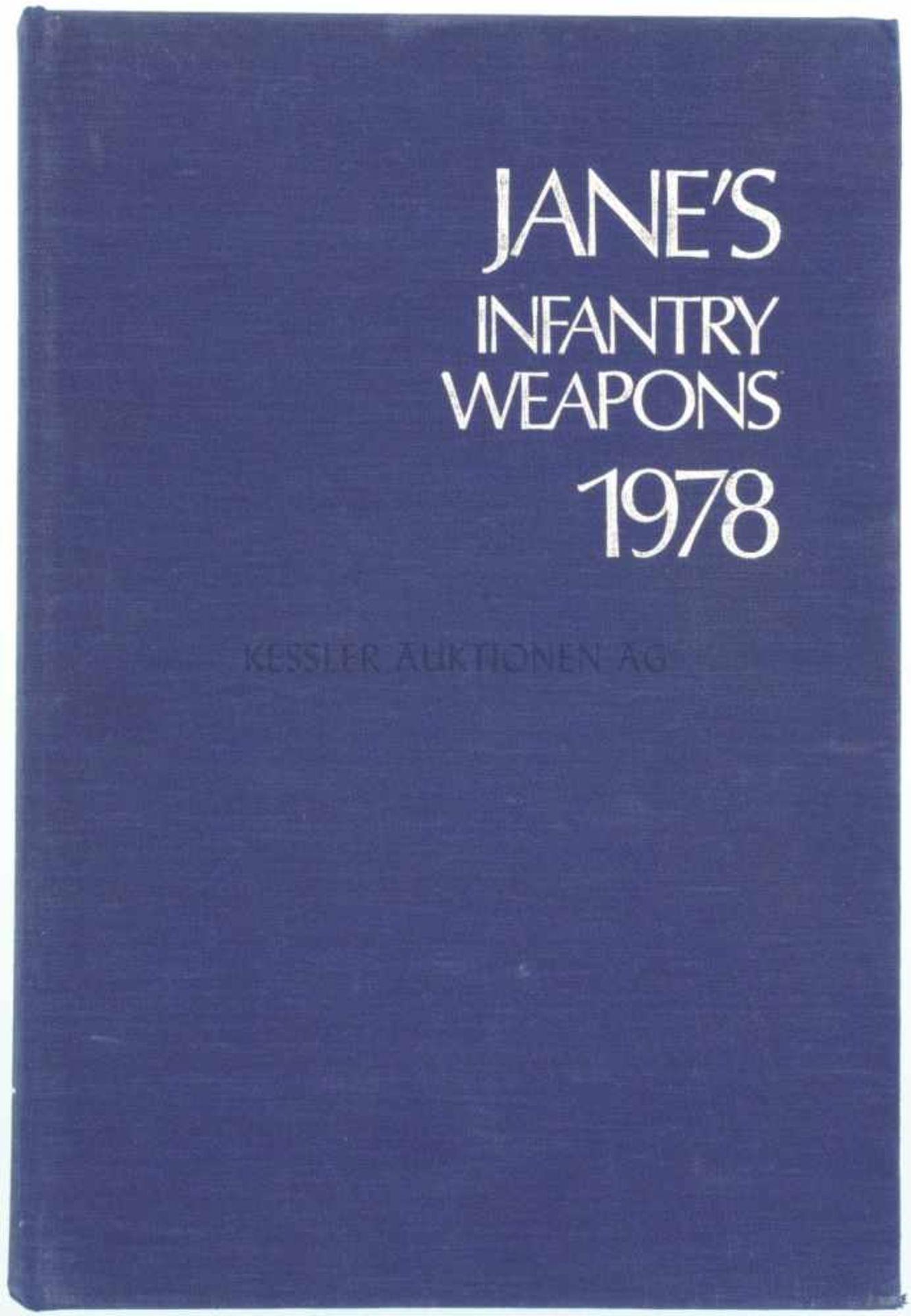 Jane's Infantry Weapons, 1978 4. Auflage, von Denis H.R. Archer MA, 782 Seiten mit diversen
