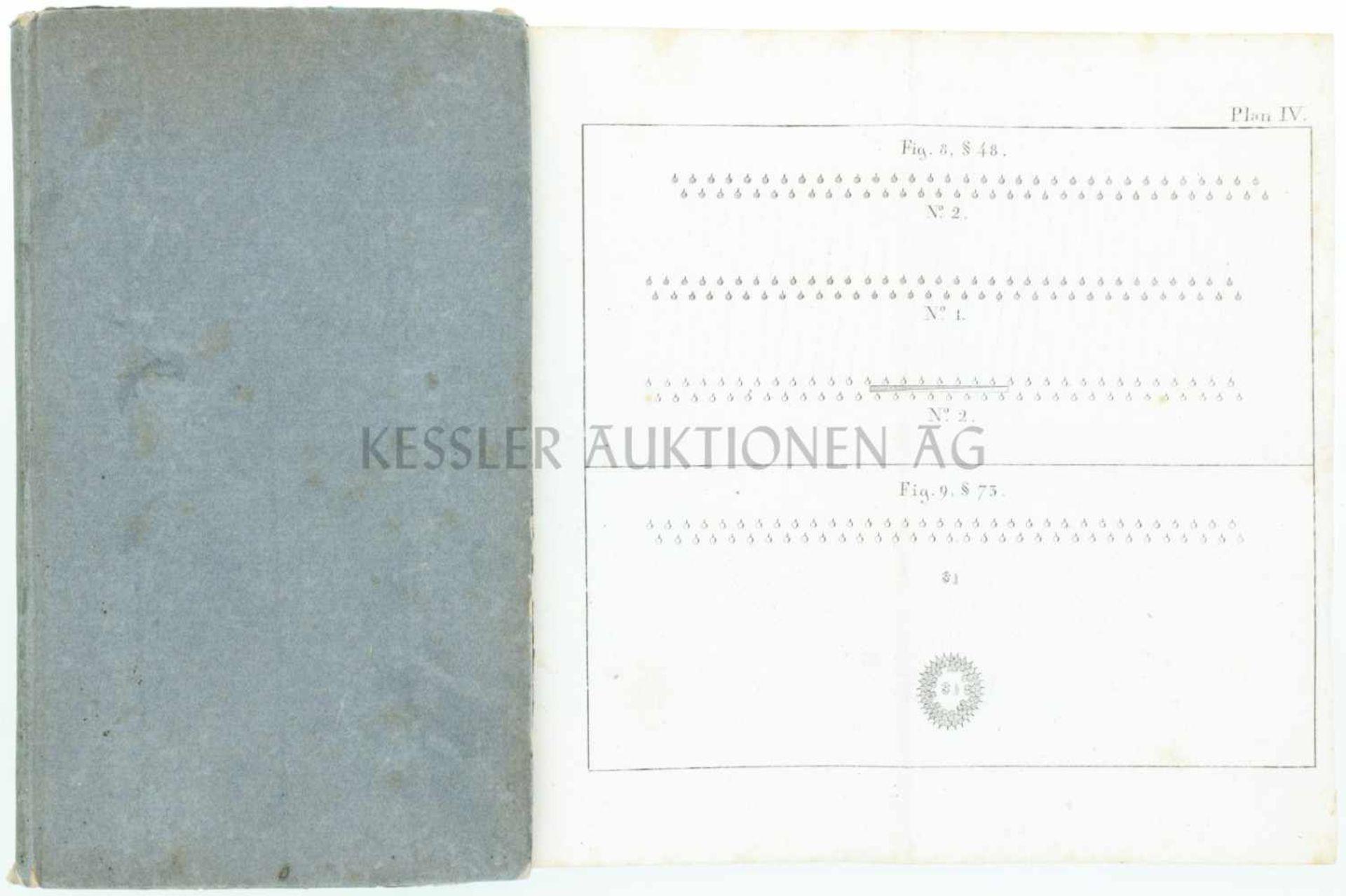 Los 1 - Reglement für die Eidgenössische leichte Infanterie von 1821 Interessantes Büchlein zur leichten