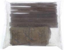Konvolut von 20 Wischkolben und 10 Mündungsschonern zu Peabody 1867, Kal. 10.4mm Wischkolben aus