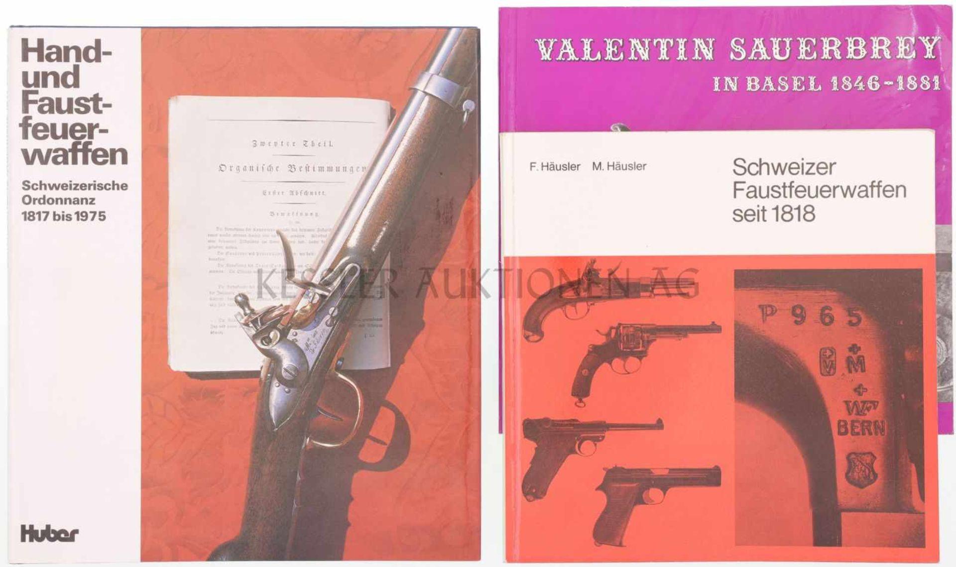 Konvolut von 3 Büchern 1. Valentin Sauerbrey in Basel, 1846-1881, Autoren P. Kopp und Christian