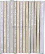 Konvolut von 14 Bänden, Bewaffnung und Ausrüstung der Schweizer Armee seit 1817 1