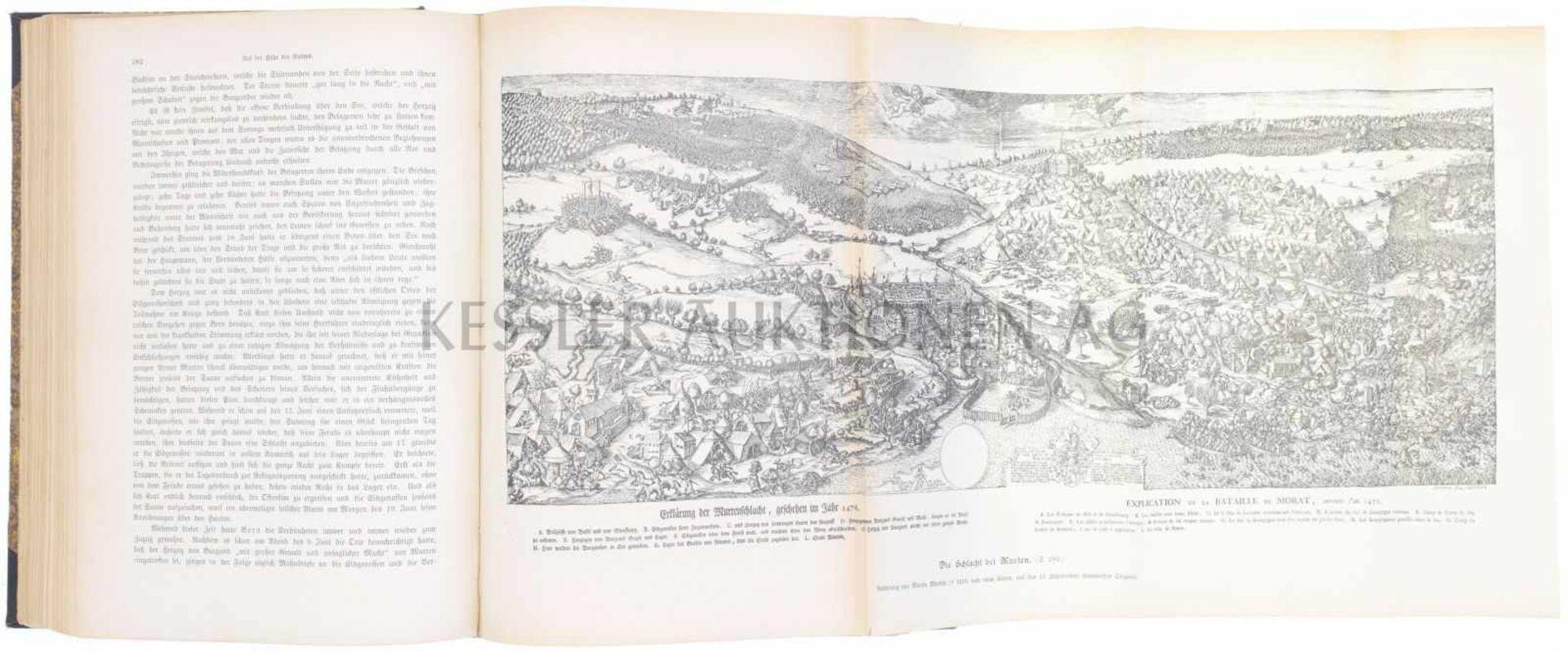 Los 3 - Buch, Kriegstaten der Schweizer Oberst Emil Frey, Alt Bundesrat verfasste dieses Buch 1904. Auf