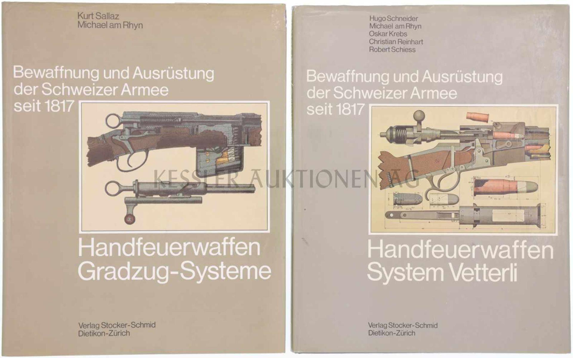 Los 20 - Konvolut von zwei Büchern, Bewaffnung und Ausrüstung der Schweizer Armee seit 1817 1. Band 3,