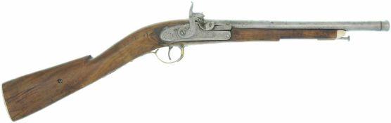 Perkussions-Knabengewehr, Italien für den arabischen Exportmarkt, Kal. 13mm LL 310mm, TL 630mm,